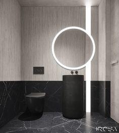 New luxury is a modern individuality, progressive design and functionality. Wc Design, Toilet Design, Interior Design Studio, House Design, Washroom Design, Bathroom Design Luxury, Bathroom Toilets, Small Bathroom, Bathrooms