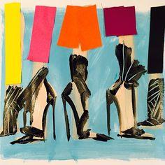 Sandrine's shoes--donalddrawbertson