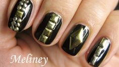 STUDDED NAILS TUTORIAL - Easy Nail Art Design for Beginners with Tips for the Perfect Manicure
