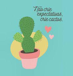 """""""Cactus Lover"""" @bykarenrulez Disponível em camiseta almofada poster e mais #movidoapessoasincriveis #artetododia"""
