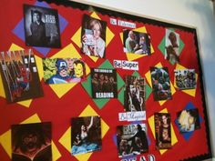 Library Bulletin Board: Be talented, be super, be magical. READ!