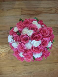 Buds Floral Design: Carnation and Rose Wedding