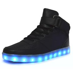 Cheap led arm Buy Quality shoe gems directly from China led green light  international Suppliers High quality 7 Colors LED Luminous WomenMen high  top