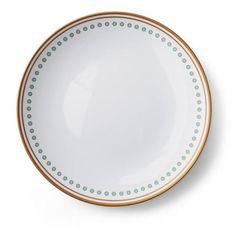 Donatella Capri Melamine Dinner Plates, Set Of Four (385 MAD) ❤ liked on Polyvore featuring home, kitchen & dining, dinnerware, white melamine dinner plates, white dinner plates, white melamine dinnerware, turquoise dinnerware and white dinnerware