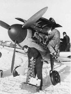 MG 151/15 15mm 機関銃 明るい夜間戦闘