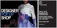 South African designer pop-up shop for just one more week! Sandton City, Fountain Court