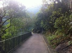Bowen Road - A scenic walking path in the Mid Levels, Hong Kong