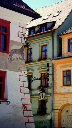 vintagerouge:    Sighisoara.Gingerbread town like.