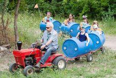 Image result for barrel kids train ride
