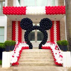 Mickey e Minnie - Cenário Balões