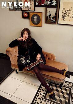 I Jeon Somi for Nylon magazine December Issue Jeon Somi, South Korean Girls, Korean Girl Groups, Girl Next Door Look, Cool Poses, She Girl, Korean Celebrities, Celebs, Kpop