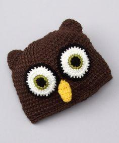 owl beanie from zulily.com