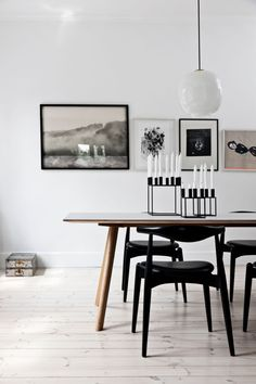 Dining Room Inspiration: 10 Scandinavian Dining Room Ideas You'll Love Table Design, Dining Room Design, Chair Design, Dining Rooms, Dining Area, Fine Dining, Dining Sets, Dining Room Inspiration, Interior Inspiration