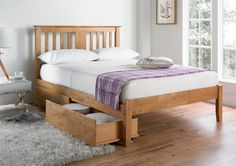 The Malmo Oak is a new addition to our range and is a timeless design that will work well in a number of design schemes. The bed frame comes complete with a sprung slatted base, metal centre support rail and metal support feet. The Malmo has be Wooden Bed Frames, Wooden Beds, Mattress Dimensions, Oak Beds, Modern Minimalist Living Room, Large Bedroom, Cool Rooms, Bed Design, Living Room Designs
