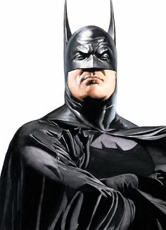 Do these ears make my chin look fat? Batman by Alex Ross