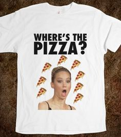 """Jennifer Lawrence """"Where's The Pizza?"""" I will obtain thee!"""