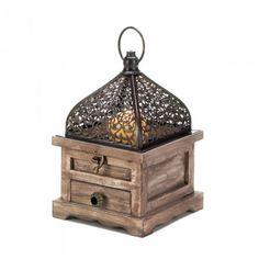 Small Flip-top Moroccan Lantern