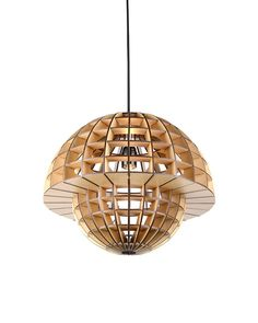 Plywood Mushroom Shade Pendant Ceiling Lights                                                                                                                                                      More