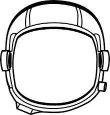 astronaut hat printable astronaut s helmet clip art vector clip rh pinterest com