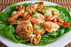 shrimp dishes | Closet Cooking: Honey Walnut Shrimp