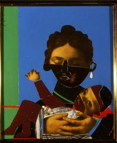 Romare Bearden. http://www.pegalstonfinearts.com/wp-content/uploads/2012/08/Romare_Bearden_-_Mother_Child.jpeg
