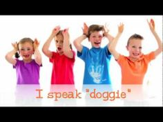 I Speak Doggie, fun video for little ones who interact with dogs Dog Safety, Child Safety, Dogs And Kids, Animals For Kids, Dog Body Language, Behavior Modification, Positive Reinforcement, Foster Care, Family Dogs