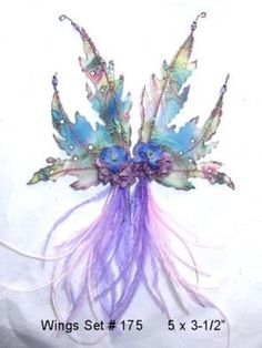 Fairy Wings Tutorial ~ step by step tutorial with pictures a video! Description from pinterest.com. I searched for this on bing.com/images