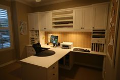 Home Office Design Ideas   California Closets Koala Sewing Cabinets, Office  Workspace, Study Office