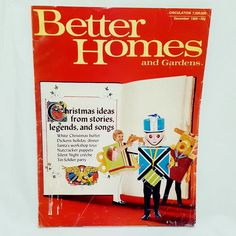 better homes and gardens magazine dec 1969 christmas toys buffet party stories betterhomesgardens soldier party