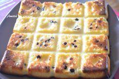 Moelleux noix de coco p�pite de chocolat Biscuit Cake, Flan, Tupperware, Nutella, Biscuits, Waffles, Deserts, Nutrition, Sweets