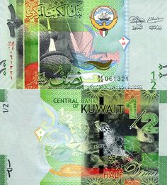 Kuwait Dinar, New, UNC for sale online Money Notes, Money Bill, Rare Coins, World, Fast Cash, History, Bank Deposit, Louis Xvi, Bank Account