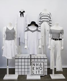 Cute Casual Outfits, Simple Outfits, Ulzzang Fashion, Korean Fashion, Aesthetic Fashion, Aesthetic Clothes, Kawaii Dress, Girl Fashion, Fashion Outfits