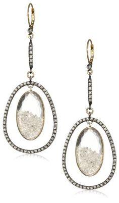 """Moritz Glik """"Kaleidoscope"""" 18K Gold and Floating Diamond Dangle Earrings Moritz Glik,   Price:$15,140.00  http://www.amazon.com/dp/B005EL5W6M/ref=cm_sw_r_pi_dp_i8C7qb03KKAY0"""