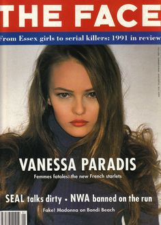 Vanessa Paradis, femme fatale the new french starlet.