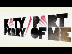"Official lyric video for Katy Perry's ""Part of Me"" debuted at the 2012 GRAMMY Awards and available on her upcoming March 26, 2012 album 'Teenage Dream: The Complete Confection'."