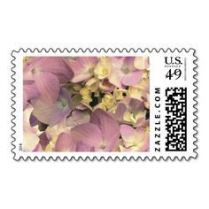 Lavender Sun Hydrangea Medium Size Postage. I love this design! It is available for customization or ready to buy as is. All you need is to add your business info to this template then place the order. It will ship within 24 hours. Just click the image to make your own!