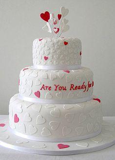 Heart Wedding Cakes - The Wedding SpecialistsThe Wedding Specialists