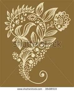 Tattoo Hand Drawn Henna Mendhi Mandala Mehndi Flower Doodles