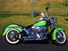 2007 Harley-Davidson Soft Tail Deluxe - love love love this color