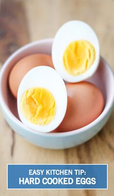 Put your new pressure-cooking gadget to good use by whipping up delicious Hard Cooked Eggs in half the time! The real question is, what spring dishes will you whip up using this easy tip? Cooking Gadgets, Kitchen Gadgets, High Protein Snacks, Egg Salad, How To Cook Eggs, Pressure Cooking, Food Hacks, Instant Pot, Dishes