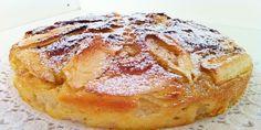 Lavate e sbucciate la mela, togliete il torsolo e tagliatela a cubetti. In una terrina mettete la farina e versate al centro lo yogurt, unite lo zucchero, il miele, il sale e l'essenza di vaniglia. Impastate con un cucchiaio di legno e unite poco alla volta il latte, incorporate l'olio, il tuorlo d'uovo, il succo …