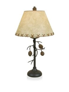 Pine Cone Large Table Desk Lamp Rustic Lodge Decor by DEI, http://www.amazon.com/dp/B000VPG26U/ref=cm_sw_r_pi_dp_jAtcrb0YECHJN