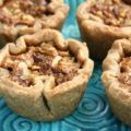 Molasses butter tarts are creamy-sweet with a rich flavour and subtle tang from the molasses. More flavourful than butter tarts made with corn syrup. Sweet a. Tart Recipes, Sweet Recipes, Dessert Recipes, Cooking Recipes, Desserts, Healthy Recipes, Molasses Recipes, Tart Filling, Homemade Pastries