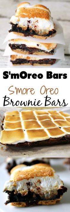 S'mOreos - S'more Oreo Brownie Bar - Page 2 of 2 - Princess Pinky Girl