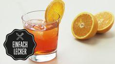 Aperol Spritz Cocktail mit Tee | Rezept | Drinks | selber machen | #einf...