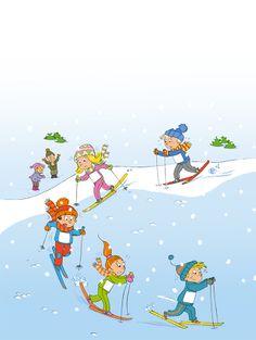 Praatplaat winter voor kleuters