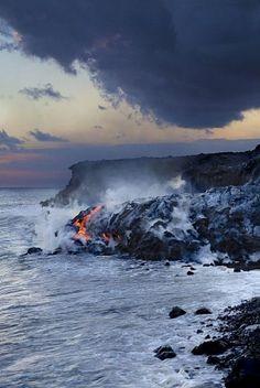 ✮ Pacific Lava Flow - Hawaii, Big Island