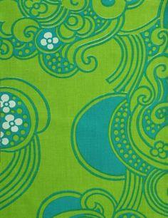 Porin puuvilla fabric design by Raili Konttinen 60s Patterns, Textile Patterns, Textile Prints, Cool Patterns, Vintage Patterns, Print Patterns, Textiles, Hippie Background, Background Vintage
