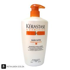 Kerastase Bain Satin 1 specially formulated to meet the needs of normal to slightly dry hair, it gently cleanses your hair of dirt, excess oil and product build-up, whilst deeply moisturising and conditioning your hair to restore it back to full health.
