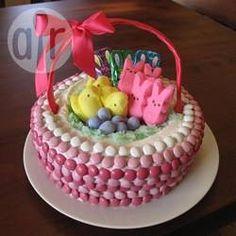 Bolo cesta de Páscoa @ allrecipes.com.br